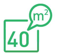 Le purificateur d'air IDEAL santé AP 40 Pro traite une surface de 40 m²