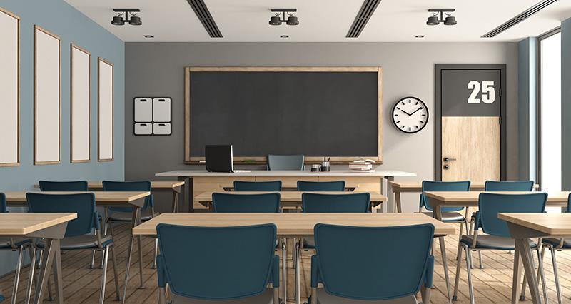 Purificateur d'air contre le COVID 19 dans les salles de classes