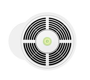 Purificateur d'air IDEAL LED verte