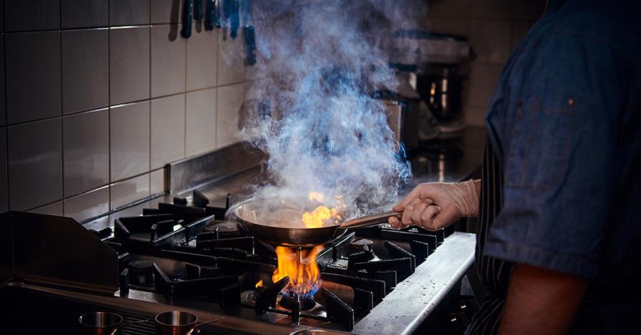 Purificateur d'air pour cuisine de restaurant